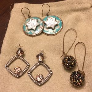 Jewelry - 🌸3 pair of earrings for one price!  Only $3/pair!